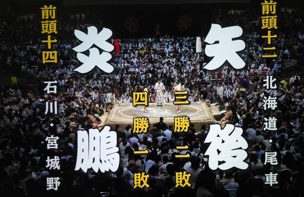 令和初の大相撲夏場所の6日目は🌻