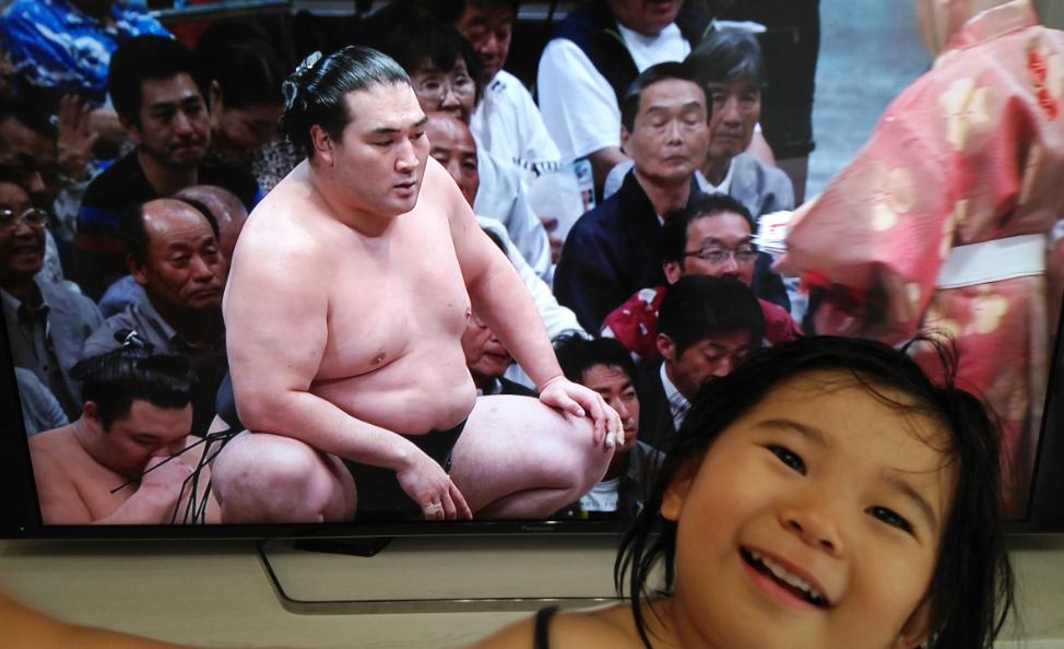 令和初の大相撲夏場所の13日目は🌷