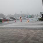 南国のスコールに負けず劣らないほどの豪雨に見舞われた昨日