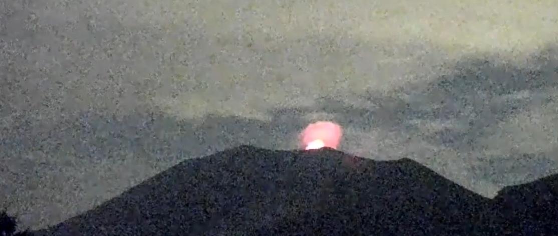 浅間山が今月2回目の噴火💡