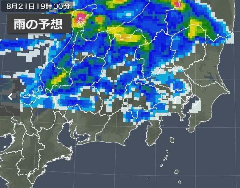 秋雨前線や大気の状態が不安定な影響で....