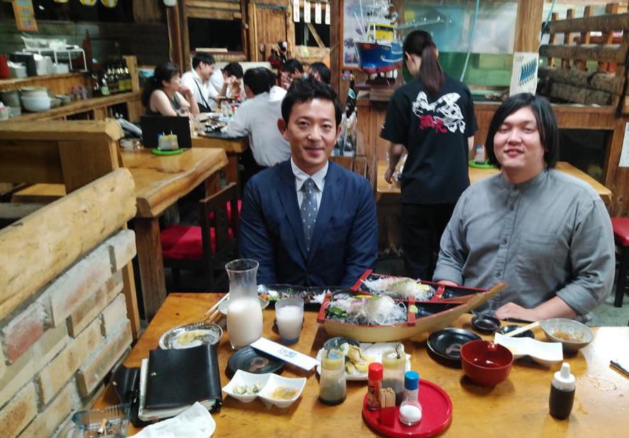 今年3回目のクラシード愛媛様との会食!