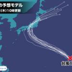 台風15号=ファクサイが誕生。