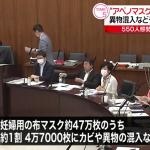 素敵なアベノマスクは、検品に8億円....