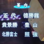 令和二年の大相撲初場所:11日目も素晴らしい取組ばかり!