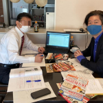 クラシード名古屋東様のポスティング研修へ☆彡