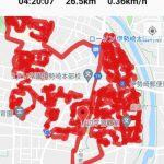 今日は3日ぶりにポスティング日和となり、伊勢崎市の若葉町→太田町→連取町へ。